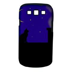 Cat On The Roof  Samsung Galaxy S Iii Classic Hardshell Case (pc+silicone) by Valentinaart