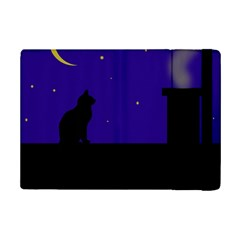 Cat On The Roof  Ipad Mini 2 Flip Cases by Valentinaart
