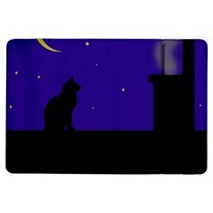 Cat On The Roof  Ipad Air Flip by Valentinaart