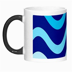 Blue Waves  Morph Mugs by Valentinaart