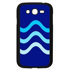 Blue Waves  Samsung Galaxy Grand Duos I9082 Case (black) by Valentinaart