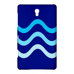 Blue Waves  Samsung Galaxy Tab S (8 4 ) Hardshell Case  by Valentinaart
