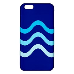 Blue Waves  Iphone 6 Plus/6s Plus Tpu Case by Valentinaart