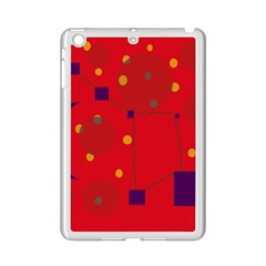 Red Abstract Sky Ipad Mini 2 Enamel Coated Cases by Valentinaart