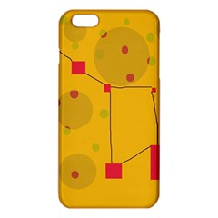 Yellow Abstract Sky Iphone 6 Plus/6s Plus Tpu Case by Valentinaart