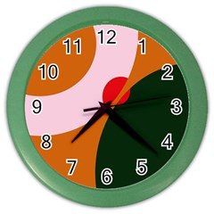 Decorative Abstraction  Color Wall Clocks by Valentinaart