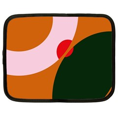 Decorative Abstraction  Netbook Case (large)