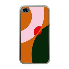 Decorative Abstraction  Apple Iphone 4 Case (clear) by Valentinaart