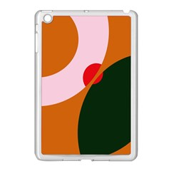 Decorative Abstraction  Apple Ipad Mini Case (white) by Valentinaart