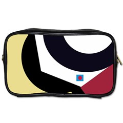 Digital Abstraction Toiletries Bags by Valentinaart
