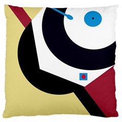 Digital Abstraction Large Cushion Case (one Side) by Valentinaart