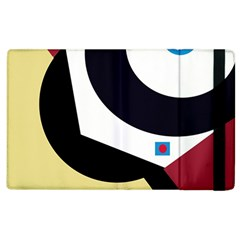 Digital Abstraction Apple Ipad 2 Flip Case by Valentinaart