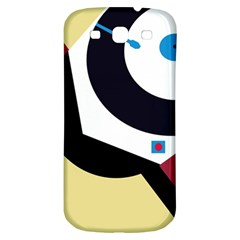 Digital Abstraction Samsung Galaxy S3 S Iii Classic Hardshell Back Case by Valentinaart