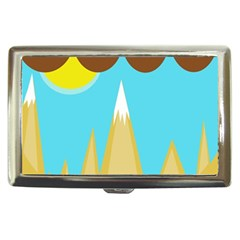 Abstract Landscape  Cigarette Money Cases by Valentinaart
