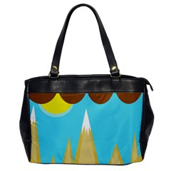 Abstract Landscape  Office Handbags by Valentinaart