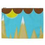 Abstract landscape  Cosmetic Bag (XXL)  Front