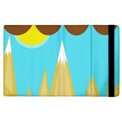 Abstract Landscape  Apple Ipad 2 Flip Case by Valentinaart