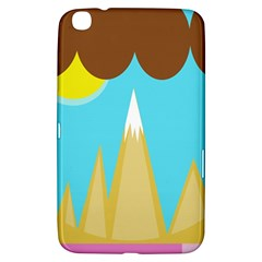 Abstract Landscape  Samsung Galaxy Tab 3 (8 ) T3100 Hardshell Case