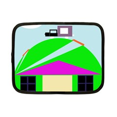 Abstract Landscape  Netbook Case (small)  by Valentinaart