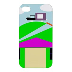 Abstract Landscape  Apple Iphone 4/4s Hardshell Case by Valentinaart