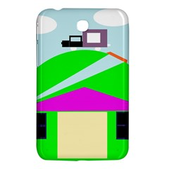 Abstract Landscape  Samsung Galaxy Tab 3 (7 ) P3200 Hardshell Case  by Valentinaart