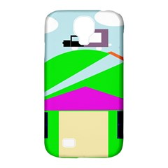 Abstract Landscape  Samsung Galaxy S4 Classic Hardshell Case (pc+silicone) by Valentinaart