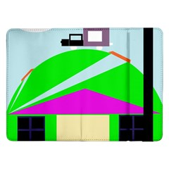 Abstract Landscape  Samsung Galaxy Tab Pro 12 2  Flip Case by Valentinaart