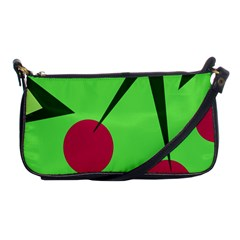 Cherries  Shoulder Clutch Bags by Valentinaart