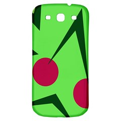 Cherries  Samsung Galaxy S3 S Iii Classic Hardshell Back Case by Valentinaart
