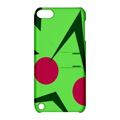 Cherries  Apple Ipod Touch 5 Hardshell Case With Stand by Valentinaart