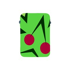 Cherries  Apple Ipad Mini Protective Soft Cases by Valentinaart