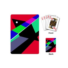 Abstract Fish Playing Cards (mini)  by Valentinaart
