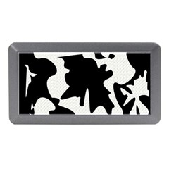 Black And White Elegant Design Memory Card Reader (mini) by Valentinaart