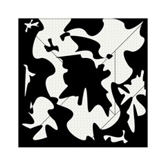 Black And White Elegant Design Acrylic Tangram Puzzle (6  X 6 ) by Valentinaart