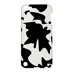 Black And White Elegant Design Apple Ipod Touch 5 Hardshell Case by Valentinaart