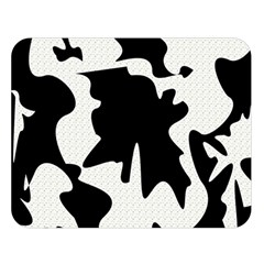 Black And White Elegant Design Double Sided Flano Blanket (large)  by Valentinaart