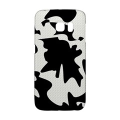 Black And White Elegant Design Galaxy S6 Edge by Valentinaart