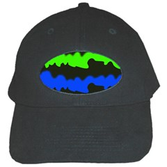 Colorful Abstraction Black Cap