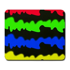 Colorful Abstraction Large Mousepads by Valentinaart