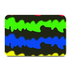 Colorful Abstraction Plate Mats by Valentinaart