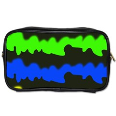 Colorful Abstraction Toiletries Bags 2 Side by Valentinaart
