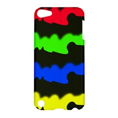 Colorful Abstraction Apple Ipod Touch 5 Hardshell Case by Valentinaart