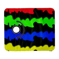 Colorful Abstraction Samsung Galaxy S  Iii Flip 360 Case by Valentinaart