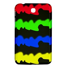 Colorful Abstraction Samsung Galaxy Tab 3 (7 ) P3200 Hardshell Case  by Valentinaart