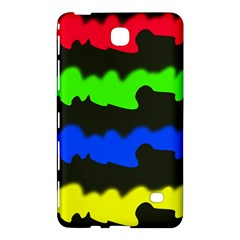 Colorful Abstraction Samsung Galaxy Tab 4 (8 ) Hardshell Case  by Valentinaart
