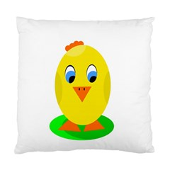 Cute Chicken  Standard Cushion Case (one Side) by Valentinaart