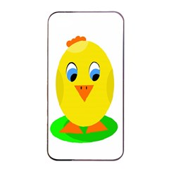 Cute Chicken  Apple Iphone 4/4s Seamless Case (black) by Valentinaart