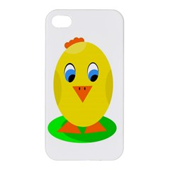 Cute Chicken  Apple Iphone 4/4s Hardshell Case by Valentinaart