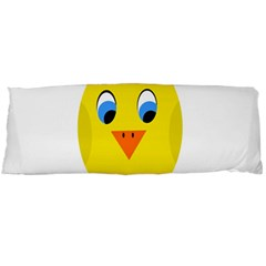Cute Chicken  Body Pillow Case Dakimakura (two Sides) by Valentinaart