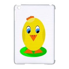 Cute Chicken  Apple Ipad Mini Hardshell Case (compatible With Smart Cover) by Valentinaart